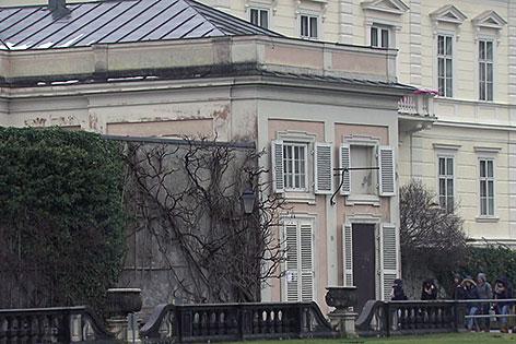 Gebäude des ehemaligen Barockmuseums am Mirabellgarten in der Stadt Salzburg