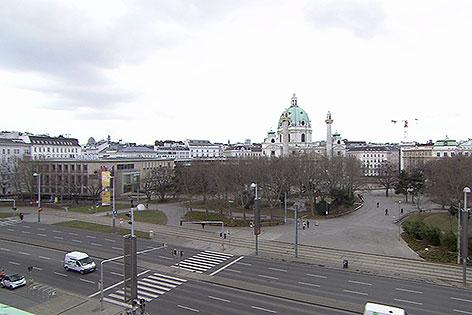 Karlsplatz  mit Wien Museum