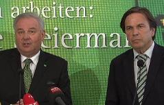 Hermann Schützenhöfer und Franz Voves