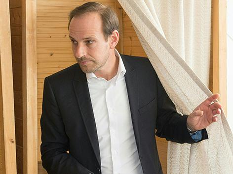 Dieter Egger FPÖ Hohenems Wahlkabine