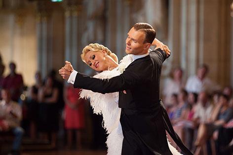 Vadim Garbuzov und Kathrin Menzinger (beide ÖTSV)
