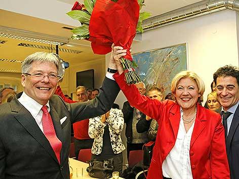 Mathiaschitz Kaiser Feier Wahlsieg Klagenfurt