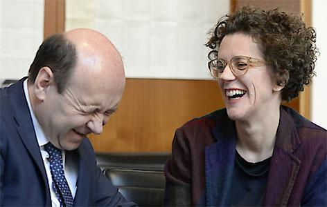 Dominique Meyer und Olga Neuwirth