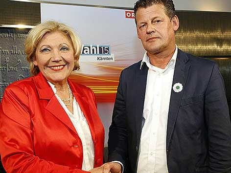 Mathiaschitz Scheider Wahlsieg Klagenfurt