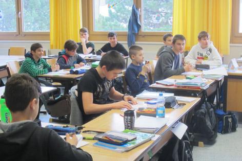 Klasse im zehnten Bezirk