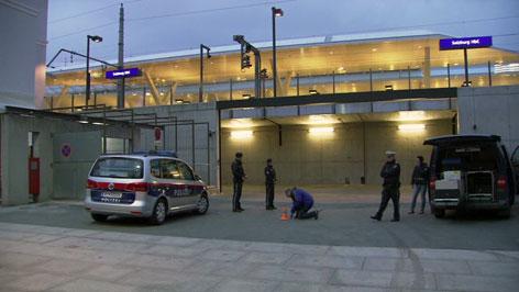 Tatort am Hauptbahnhof. Hier ist eine Person tödlich verletzt worden