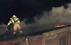 Großbrand in Hüttau bei Wohnhaus