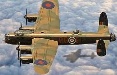 Lancaster Bomber Absturz bei Adnet