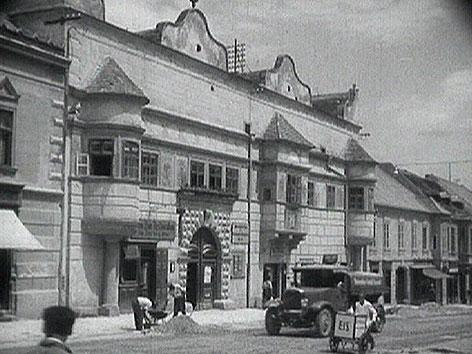 Historische Aufnahme von Eisenstadt