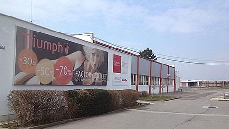 Triumph-Werk in Oberwart