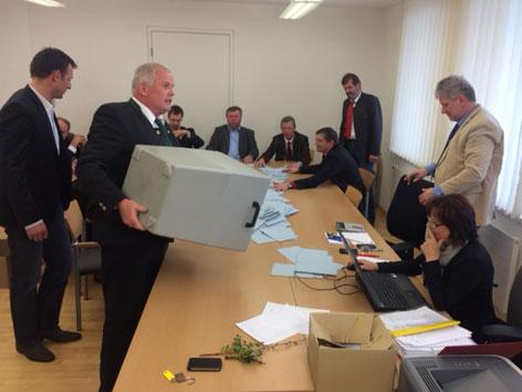 Bürgermeister Stichwahl Preitenegg