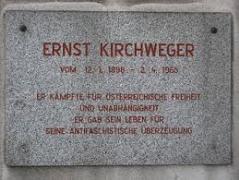Ernst Kirchweger Gedenktafel