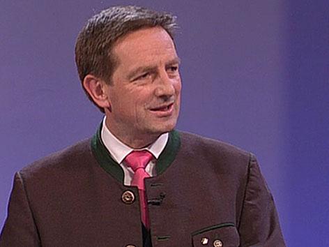 Wahl 2015 Christian Benger ÖVP
