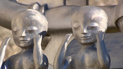 Skulptur von Bruno Gironcoli