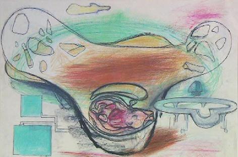 Zeichnung von Bruno Gironcoli