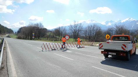 Die Tirolerstraße wird für den Verkehr freigegeben