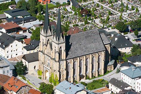"""Der """"Pongauer Dom"""" in St. Johann im Pongau"""