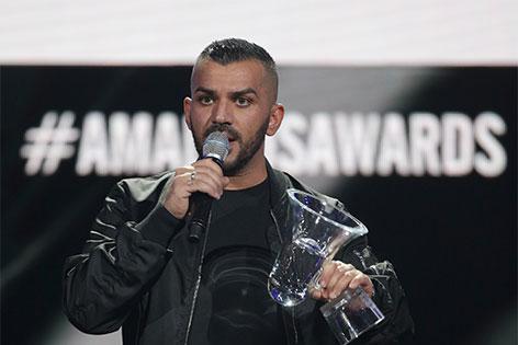Nazar mit einem Amadeus-Award