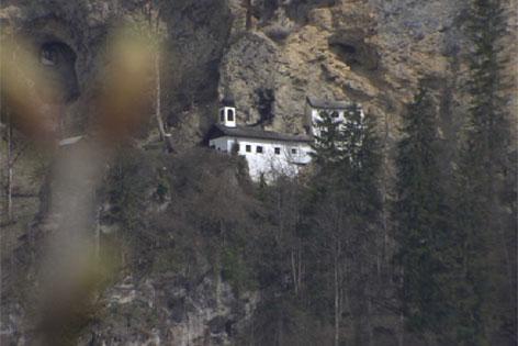 Die Einsiedelei am Palfen über Saalfelden