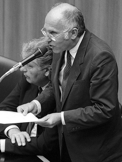 Franz Kreuzer im Juli 1986