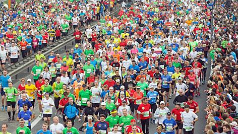 Start des Linz Marathon