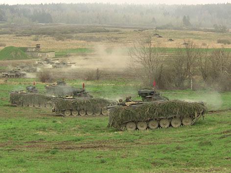Panzer in Allentsteig