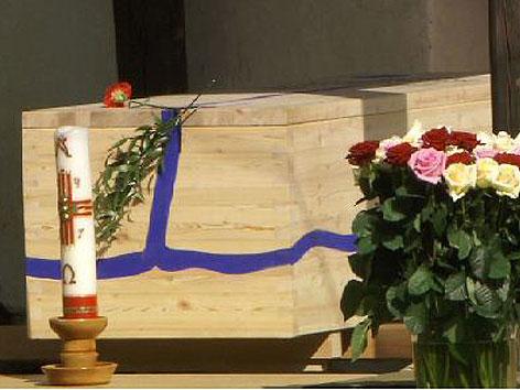 Begräbnis Giselbert Hoke