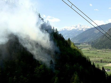 Sägewerk Waldbrand Oberdrauburg