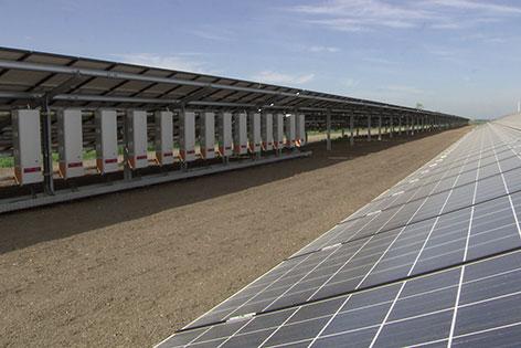 Solarstrom für ÖBB-Zug in Wilfersdorf
