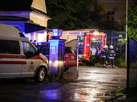 Brand in Welser Flüchtlingsheim