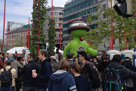 Demo Hanfwandertag