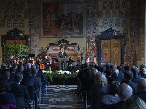 Gedenkveranstaltung Wappensaal