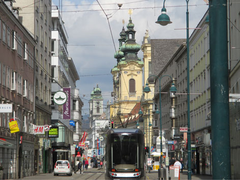 Linz, Landstraße
