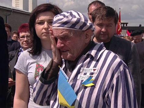 Gedenkfeier im ehemaligen KZ Mauthausen