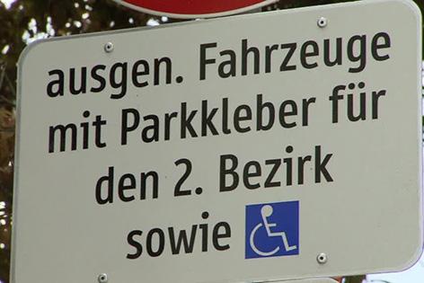 Anrainerparkplätze
