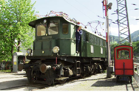 Tauernbahnmuseum Schwarzach Baureihe 1245 Tauernbahn Eisenbahnmuseum