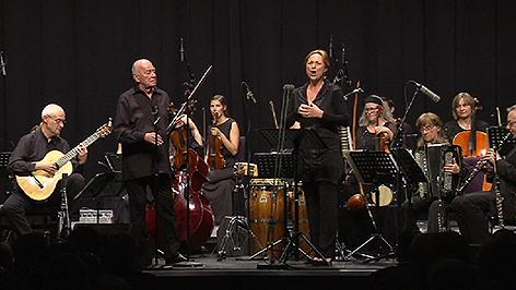 Toni Stricker und Dagmar Schellenberger