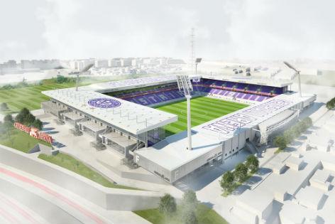 Modell Stadion