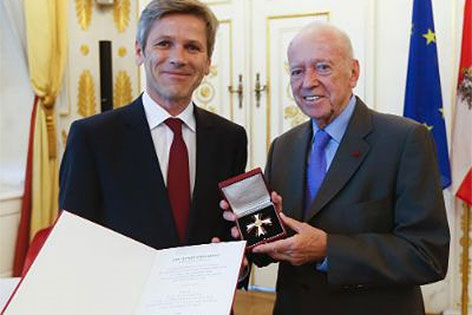 Kurt Bergmann und Josef Ostermayer