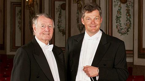 Wolfgang Lentsch und Peter Schreiber