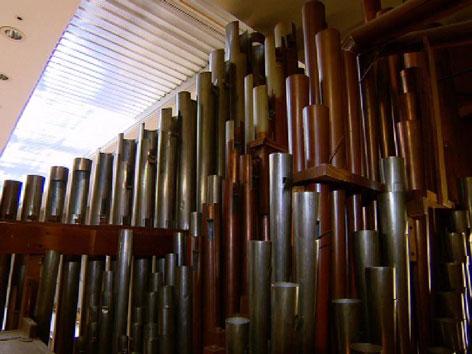 Orgel Stadtsäle Übersiedelung Pfarrkirche Ötztal