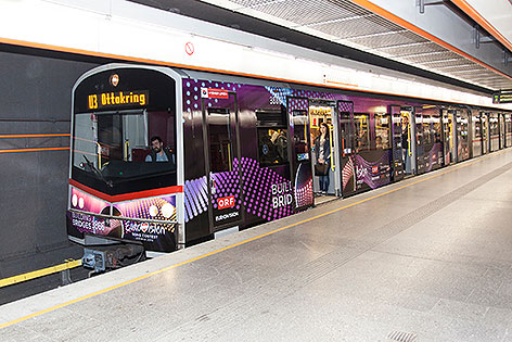 Song-Contest-U-Bahn
