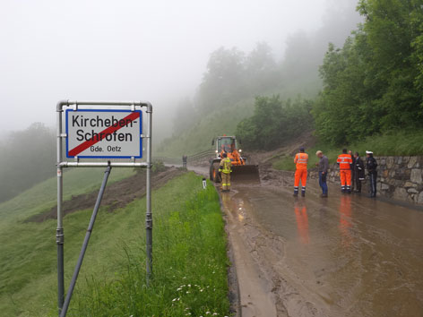 Murenabgang Ötz