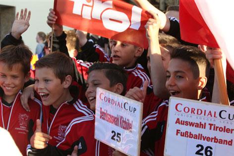 Die Tiroler Auswahl sorgte beim Cup 2014 für eine Überraschung