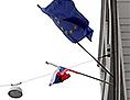 Zastava Slovenija EU