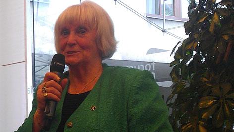 Wurst Erzsébet a Kaláka-Club elnöke
