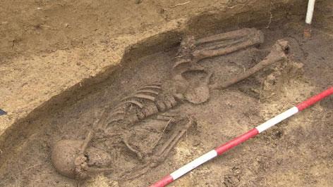 Das älteste gefundene Skelett Österreichs