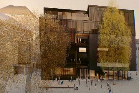 Modell Haus der Musik, Innsbruck