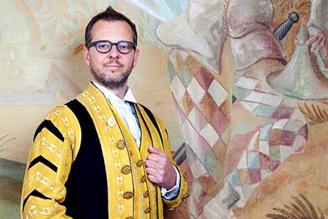 Bernd Roger Bienert Intendat TATRO BAROCCO im Stift Altenburg