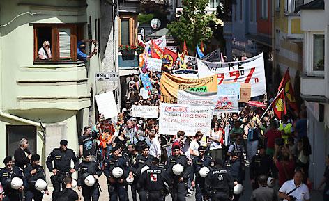 Bilderberg Demonstration